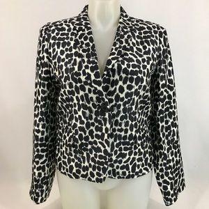 Kate Spade Silk Beverly Blazer Jacket Sz 12